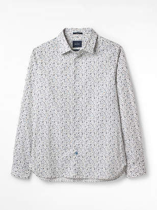 White Stuff Landsdown Barber Print Shirt