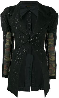 Comme Des Garçons Pre-Owned 2000's Camouflage Panels Jacket
