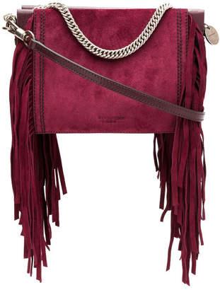Givenchy Fringed Leather Shoulder Bag