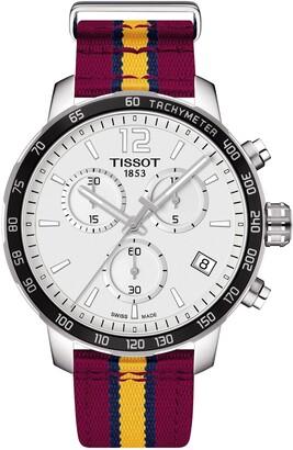 Tissot Men's Quickster Chronograph NBA Cleveland Cavaliers Watch, 42mm