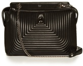 Fendi Dotcom quilted-leather bag