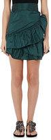 Isabel Marant Women's Aurora Matte Taffeta Miniskirt