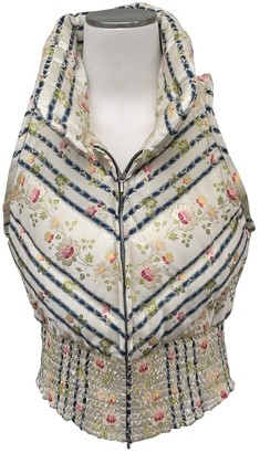 Christian Dior Ecru Silk Jackets