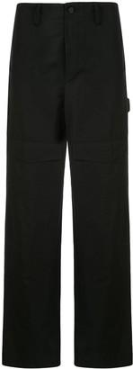 Dion Lee Cotton Grosgrain Cargo Trousers