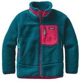 Patagonia 'Retro-X' Windproof Fleece Jacket (Little Girls & Big Girls)