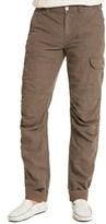 Robert Graham Avalanche Linen-blend Classic Woven Cargo Pant.