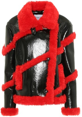 Stand Studio Melendy faux leather jacket