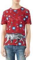 Gucci Space Animals-Print Modal & Silk T-Shirt
