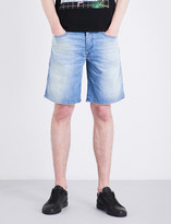 Diesel Bustshort slim-fit tapered stretch-denim shorts