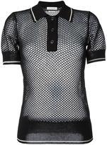 Etoile Isabel Marant knitted polo shirt - women - Viscose/Polyester - 38
