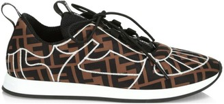 Fendi Quilted Sneakers