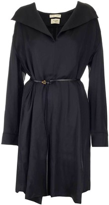 Bottega Veneta Belted Flared Shirt Dress