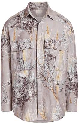 Fear Of God Floral Long-Sleeve Shirt
