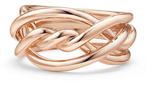 David Yurman Continuance Ring in 18K Rose Gold