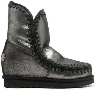 Mou metallic Eskimo boots