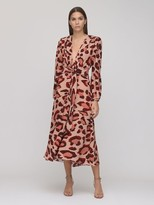 Thumbnail for your product : Maria Lucia Hohan Rury Printed Crepe Midi Dress