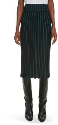 Kenzo Ribbed Sweater Skirt