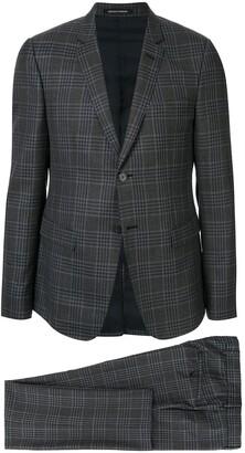 Emporio Armani Classic Checked Two-Piece Suit