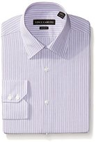 Vince Camuto Men's End/ End Stripe Modern Fit Dress Shirt