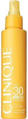 Clinique Virtu-Oil SPF30 sunscreen body mist 144ml