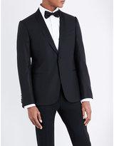 Armani Collezioni Single-breasted Wool Tuxedo Jacket