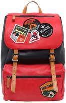 Invicta My Jolly Leather Backpack W/ Patches