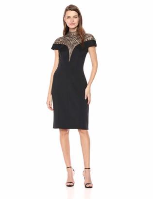 Tadashi Shoji Women's c/s Neoprene Embellished Dress