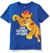 "Old Navy Disney© Lion Guard ""Like Father Like Son"" Graphic Tee for Toddler Boys"