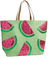 Mud Pie Beach Tote Watermelon