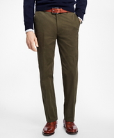 Brooks Brothers Clark Fit Brushed Twill Chinos