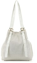 Small Distressed Perforated Tote