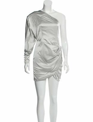 retrofete Silk Mini Dress w/ Tags Grey
