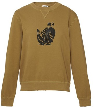 Lanvin Mother & Daughter print sweatshirt