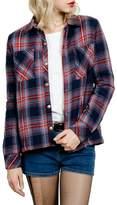 Volcom Women's Plaid About You Fleece Lined Shirt