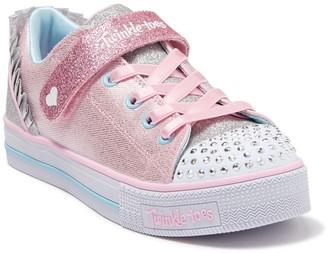 Skechers Twinkle Lite Princess Charm Light-Up Sneaker (Toddler & Little Kid)