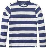 Scotch & Soda Block Striped Long Sleeve T-Shirt