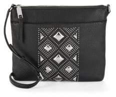 Calvin Klein Embellished Leather Crossbody Bag