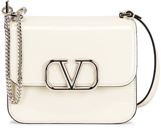 Valentino Small VSling Shoulder Bag in Light Ivory | FWRD