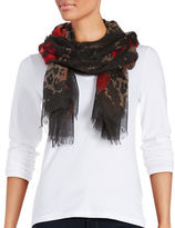 Lord & Taylor Printed Scarf