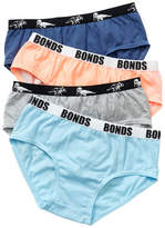 Bonds Boys Fun Pack Brief 4 Pack