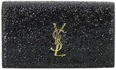 Saint Laurent Monogram Glitter Kate Clutch
