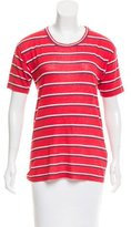 Etoile Isabel Marant Striped Linen Top
