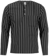 Opening Ceremony Pinstripe Tunic Shirt Black