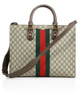 Gucci Printed Canvas Tote
