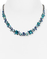 "Sorrelli Swarovski Crystal Collar Necklace, 16"""