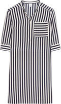 Iris and Ink Sasha striped silk shirt dress