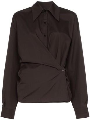 Lemaire Twist Front Shirt
