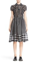 Comme des Garcons Women's Check Pattern A-Line Dress