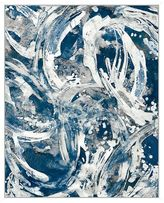 Pottery Barn Swirling Current Canvas by David Bearon