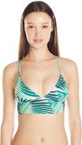 Roxy Women's Bustia Tri Halter Bikini Top